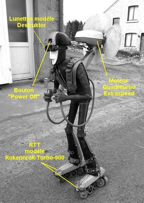 RETROMAD - Le droïde Protector-Executor dans Retromad droide