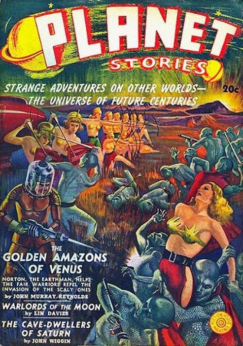 PULPOCOVER - Planet Stories dans Pulpocover 1