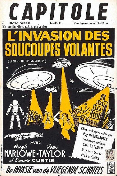POSTEROÏDE - L'Invasion des Soucoupes Volantes dans Cineteek 11