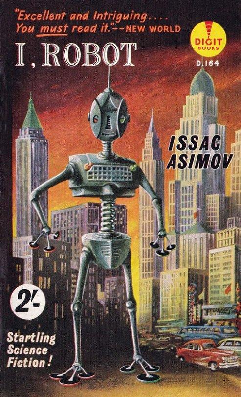 COUV - I, Robot dans Couv 40