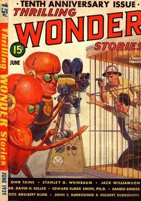 PULPOCOVER - Thrilling Wonder Stories dans Pulpocover 1